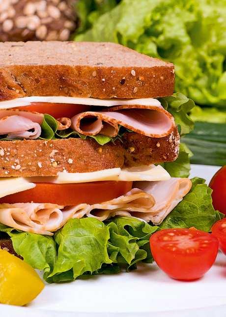 Откуда взялся бутерброд?