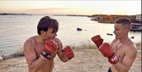 Бокс против пагубных привычек