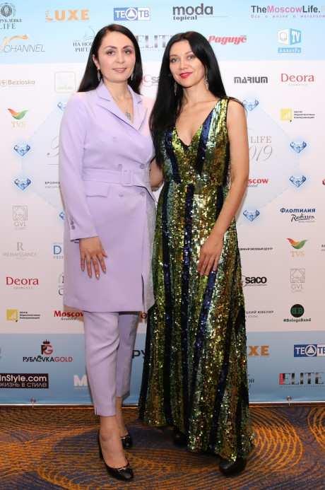 Вторая премия THE MOSCOW LIFE & BUSINESS AWARDS прошла в Москве