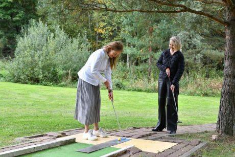 Благотворительный турнир по гольфу