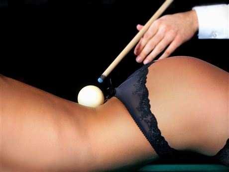 Бильярд — настоящая мужская игра