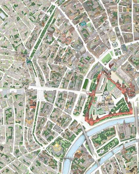 карта центра Москвы